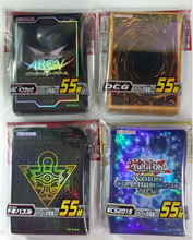 Original KONAMI Yugioh Card Japanese Official OCG ARCV Card Protector / Card Sleeves 55pcs/set for Yu-Gi-Oh Trading Card Game