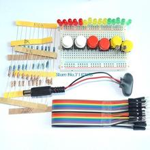 new Starter Kit for UNO R3 mini Breadboard LED jumper wire button for(China)