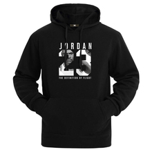2017 Brand New Fashion JORDAN 23 Men Sportswear Print Men Hoodies Pullover Hip Hop Mens tracksuit Sweatshirts Clothing(China)