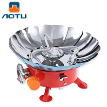 2800W Windshield Windproof gas stove Butane furnace outdoor kitchen cooktop Portable Burner for camping BBQ Picnic Cooking Oven