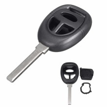 New Black Smart Remote Key Blank Shell Case Fob For SAAB 9-3 9-5 3 Button Uncut Blade(China)