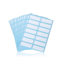 168PCS 13*38mm adhesive labels for bottles adhesive stickers Office Stickers Lab Supplies Label Tags