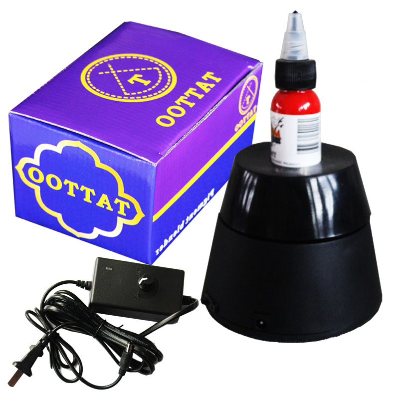 New Professional Electric Tattoo Ink Mixer Machine Shainkg Ink Pigment Agitator Tattoo acessorios Permanent Makeup tools Supply<br>