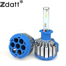 Zdatt 2Pcs Super Bright H1 Led Bulb Canbus 70W 7000Lm Headlights Car Led Light 12V 24V With Fans Automobiles