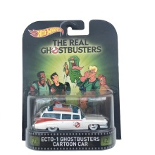 HotWheels Die-casts Retro Entertainment THE REAL GHOSTBUSTERS ECTO-1 GHOSTBUSTRS CARTOON CAR