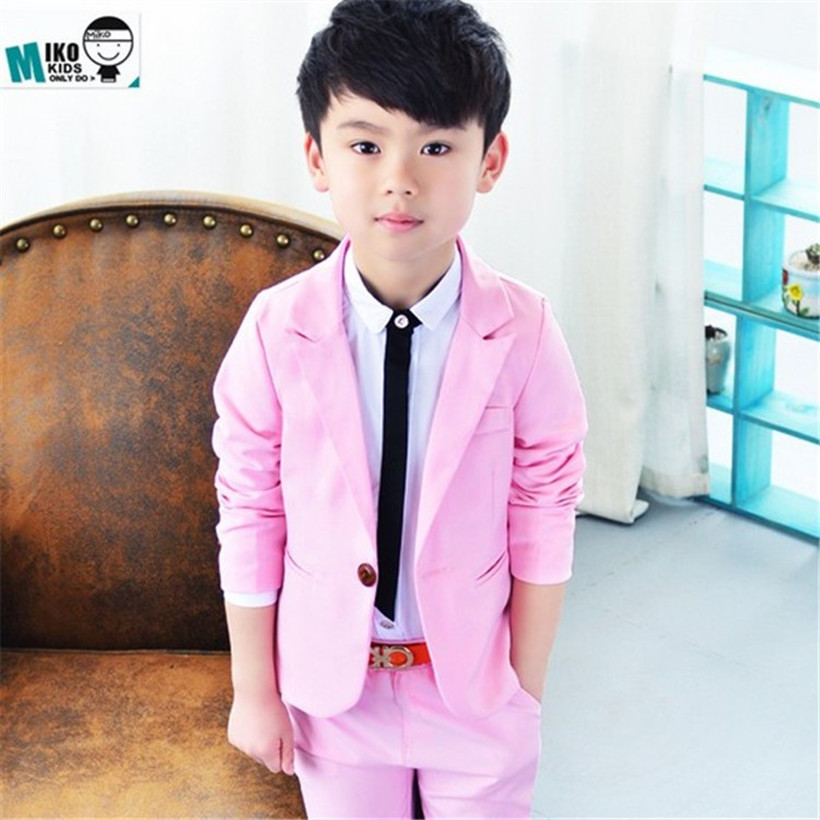Baby Kids Boys Blazers Suits Children For Weddings Formal Wedding Suit Flower Boy Dress Retail Kid S Clothing Sets In From Mother