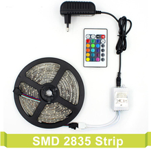 Flexible Neon Rgb Led Strip Set With 12v Power Supply & Remote Controller Led Tape Backlight TV Lamp Smd 3528 Led light