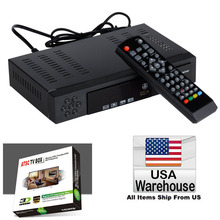USA Canada Mexico HD Digital Terrestrial Antenna Signal ATSC CONVERTOR Tuner RECEIVER 1080P TV Set Top BOX HDMI USB PVR Record