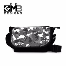 side body bags for boys camouflage school messenger bag for children mens casual cross body wallet bags cross side bags(China)