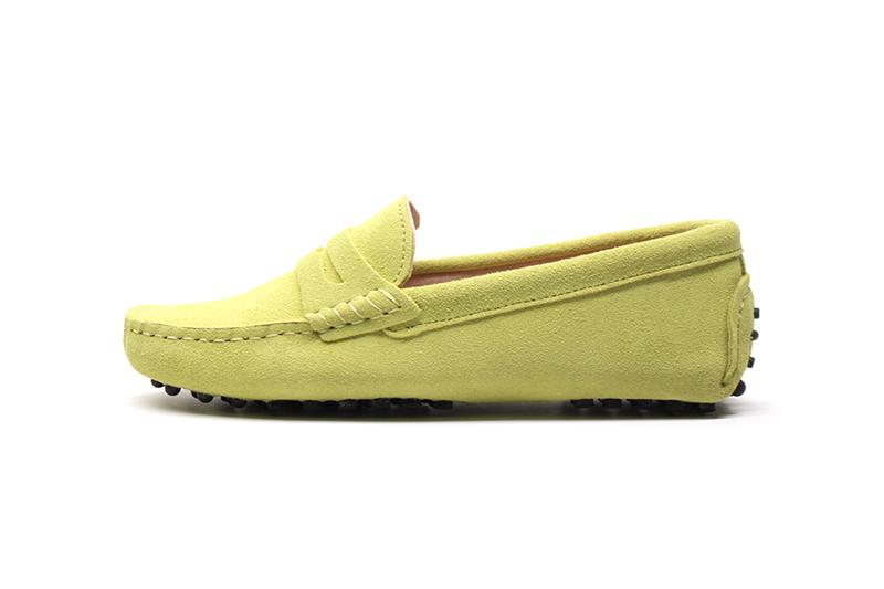 Nahast loafersid – palju värve