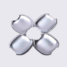 FUNDUOO FOR KIA SPORTAGE 2005 2006 2007 2008 2009 2010 CHROME SIDE DOOR BOWL INSERT CAVITY COVER TRIM MOULDING CUP(China)