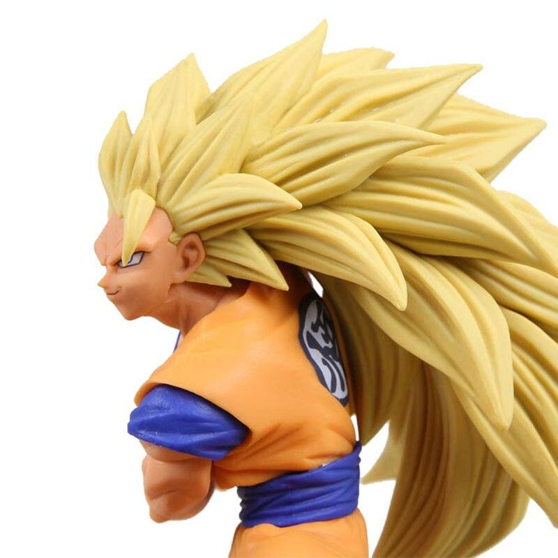 anime Dragon Ball Z Super Saiyan Trunks vegeta Son Goku uub Kakarotto PVC Action