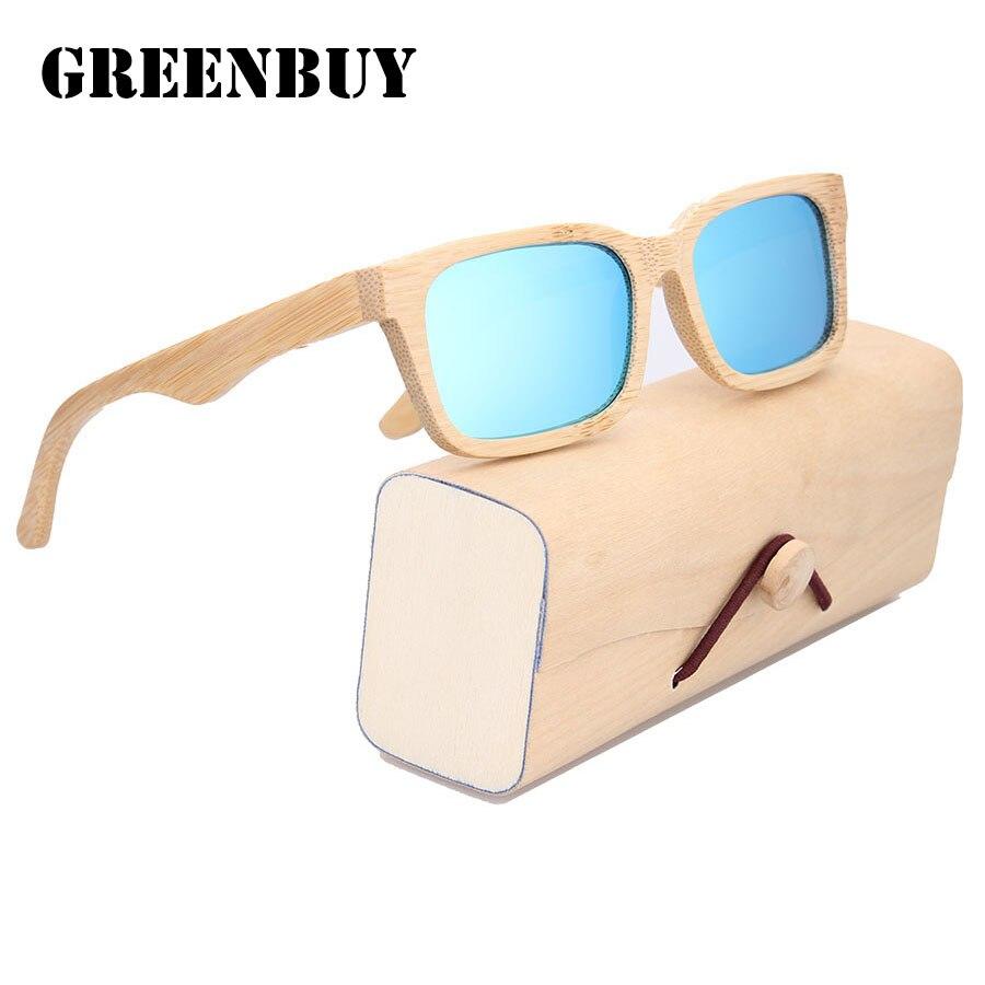 Women Glasses Sunglasses Silver Mirror Woman Polarized Glasses Oculos de sol Feminino 2017 Wooden Bamboo Sun Glasses for Women<br><br>Aliexpress