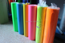 Heat Transfer Film 0.5*6M Per Roll / Heat Press Transfer PVC Vinyl Film