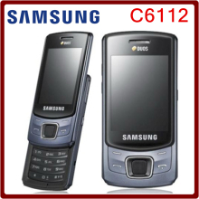 C6112 Original Unlocked Samsung C6112 Dual SIM Cards Support Russian Keyboard Refurbished Mobile Phone Free Shipping