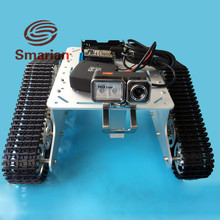 Official smarian RC WiFi Video Robot Tank Car Chassis Remote Control by Android/ios APP RC Track T300 From NodeMCU ESP8266 Kit
