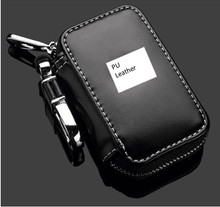 Leather Keychain zipper case bag Car Key Holder Bag Ring Case Wallet For Toyota BMW VW Honda Cadillac Land Rover Cadillac Dudi