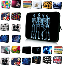 "Notebook Inner Case For Dell Inspiron 13/Dell XPS 13 Skull Waterproof Laptop Bags For Apple iPad Pro 12.9"" 13.3"" Notebook PC Bag(China)"