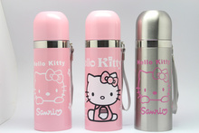 KT cup new design KT hello kitty Jingle cats thermos 350ml stainless steel vacuum cup vacuum thermos thermo mug
