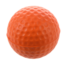 PU Golf Ball Golf Training Soft Foam Balls Practice Ball - Orange(China)