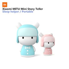 Buy Original Xiaomi MITU Intelligent Story Teller Robot Toy 8GB Mini Robot Speaker Xiaomi Mi Robot Action Figure Kids Birthday Gift for $30.99 in AliExpress store