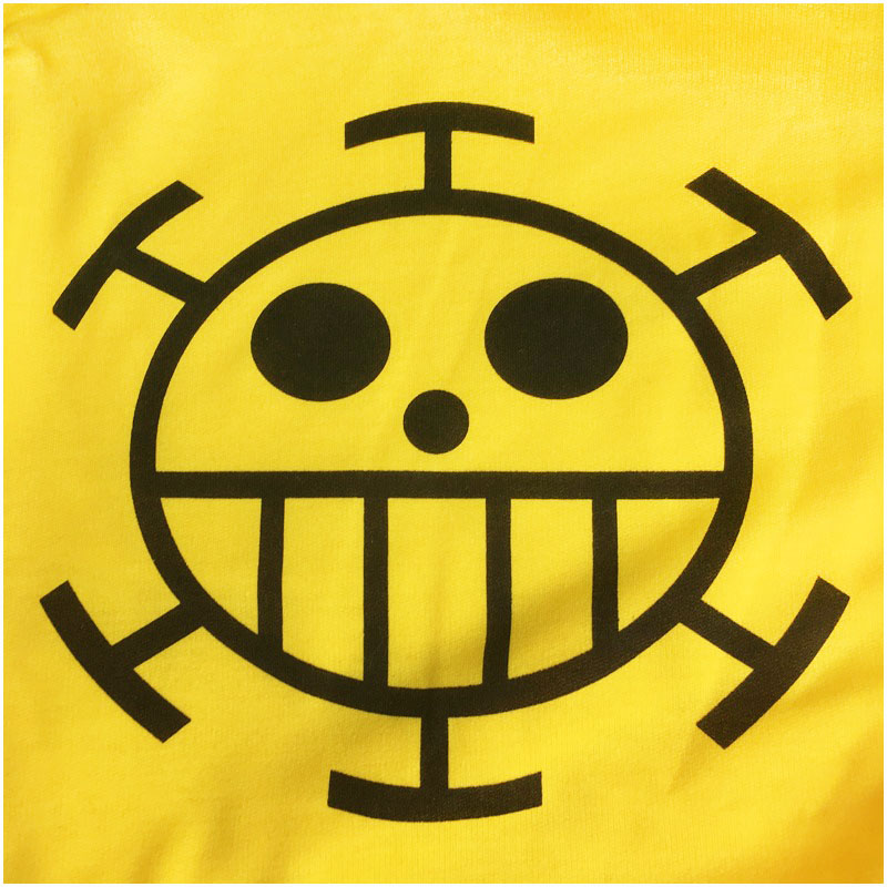 Anime Cosplay One Piece Costume Trafalgar Law Hoodies Masquerade Clothes Top for Man Women Long Sleeve Plus Size 6