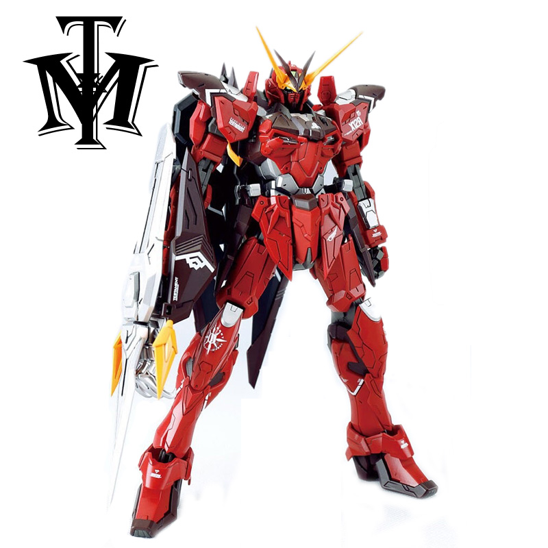 "Anime Dragon Momoko Seed Astray 7"" RGX-00 MG 1/100 Testament Gundam ZGMF-X12A Model Assemble Action Figure Robot hot kids Toy(China)"