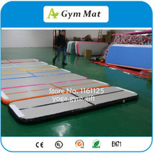 Nice Gym Mat 4x1m For Lay Yoga, Free Delivery Inflatable Air Track,Mat For Girl Gym Training(China)