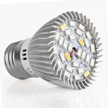 Full Spectrum E27 28W SMD5730 LED Grow Lights 85V~265V Plants Growing Lamp for Medicinal Vegetable Flower Indoor Hydroponics