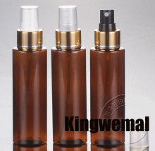 Free Shipping - 300pcs/lot 100ml Amber Perfume Bottle ,100ml Brown Mist Sprayer Bottle,100ml Perfume Atomizer