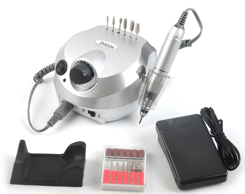 30000RPM Electric Nail Drill Machine Nail Art Equipment Manicure Kit Nail Drill File Bit Sanding Bands Accessory Nail Art Tools<br>