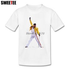 Children Toddler Cotton Freddie Mercury Queen Band Boy Girl 2018 T-shirt Crew Neck Kid Tops T Shirt Infant Tshirt(China)