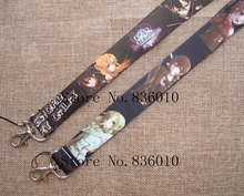 Hot Sale! 60 pcs Japanese Anime Sword Art Online Key Chains Mobile Cell Phone Lanyard Neck Straps   Favors SZ-252