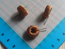Free ship with tracking 50PCS High Quality 100UH 6A Toroidal Inductor Winding Inductance Magnetic Ring Inductance (for lm2596 )