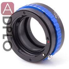 PRO Lens Adapter Suit For Ni.kon G to Fu.jifilm X Camera(Blue)