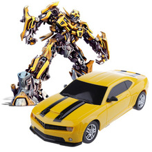 2014 New GIFT Child Electric toy RC Cars Bumblebee Remote Control Charge Car toys High Speed Remote Control Car Automobile model(China)
