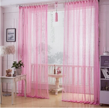 Reticularis yarn/sheer/voile/tulle curtains  translucidus cutout lace curtain decoration finished products home curtain