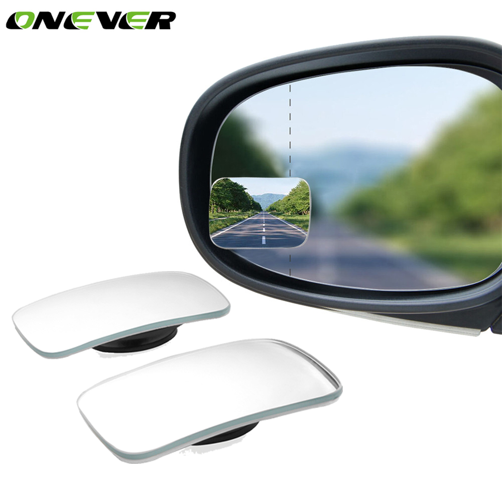 2× Side Auxiliary Blind Spot Wide View Mirror Small Rearview Car Rv Van Truck