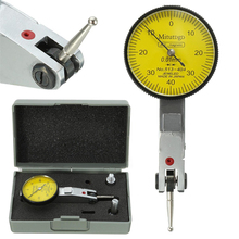 Accurate Dial Gauge Test Indicator Precision Metric with Dovetail Rails Mount 0-40-0 0.01mm Mayitr Measuring Instrument Tool(China)