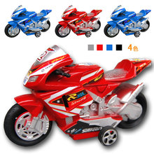 1:32 Children Q vertion mini pull back motorcycles boy toys plastic model car kids toy Birthday gifts collection 4 pieces(China)