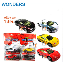 Classic toys! sports car 1:64 alloy car toy model,Sliding car random mixed for Baby Halloween Chirstmas Birthday Gift