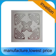 5pcs free sample Impinj Monza 4E UHF rfid tag Adhesive 860-960mhz long range paper rfid stickers For Warehous Management