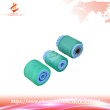 3Pcs/Set OEM New Compatible ALZENIT For Ricoh AF 1060 8000 8001 9001 7001 6002 7002 Paper Pickup Roller with Core Printer Parts