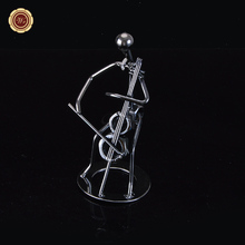 Cello Player Metal Nuts and Bolts Musician Figurine Music Gift
