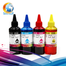 100% Genuine Ink 4 pieces/lot For EPSON L101 L111 L201 L211 printer refill dye ink---Never Hurt Printer Head(China)