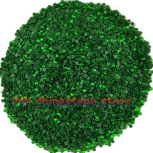 Hotfix rhinestone,1440pcs/bag,SS5(1.6mm) B Grade,Green glass Crystal Rhinestone Garment Accessories for dress,clothes,hat(China)