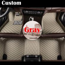 Custom make car floor foot mats special for HOVER H1 H2 H3 H5 H6 H7 H8 Foot Rugs Custom Auto 3D Carpets leather rug liners