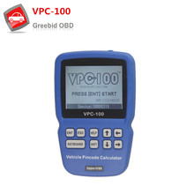 VPC100 Hand-Held Vehicle Pin Code Calculator For Almost All Cars With 500 Token Update Online VPC 100 VPC100 Pin Code Calculator