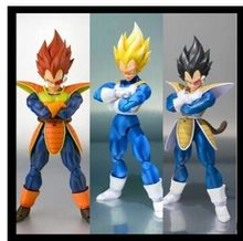 datong SHF Dragon Ball Z Dragonball battle SSJ SDCC scouter Vegeta action figure Super Saiyan black hair model toy Trunks head