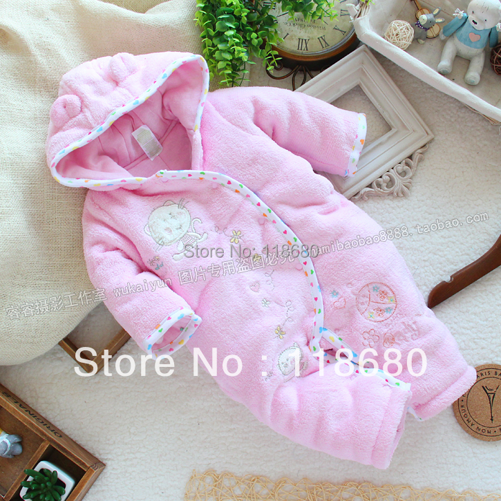 Free shipping Retail new 2014 autumn Winter baby cotton romper baby girl jumpsuit  baby overalls kids clothes creepers<br><br>Aliexpress